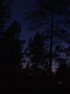 Tämä kuva on otettu muutaman kilometrin päässä Tampereen keskustasta