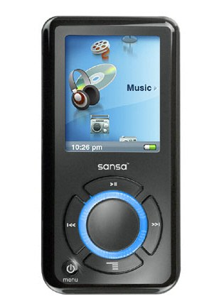 My new mp3 player: Sansa e280