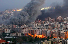 Beyrouth en feu