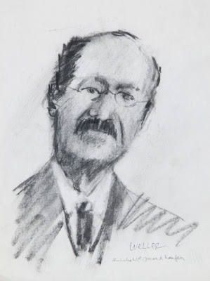 A portrait of George Weller, first president of Concordia University. The image was taken from http://marxhausen.squarespace.com/blog/2009/11/5/link-shuelke-and-weller.html