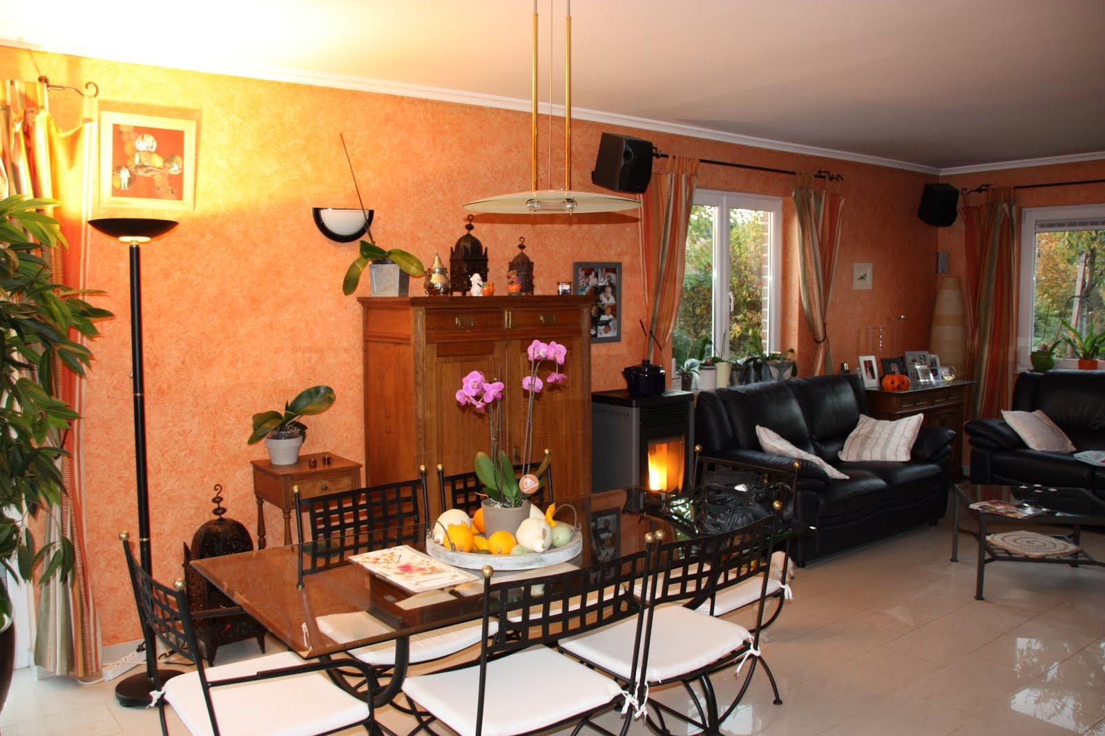 D coration et architecture d 39 int rieur salon salle a - Decoration interieur salle a manger ...