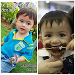 Cute Baby With Chocolate Contest by Suziey & momguess