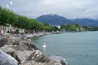 Fotografia de lago, na Suíça