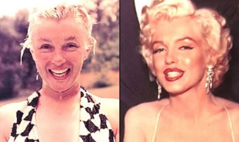 kandeej.com: Marilyn Monroe Make-Up Secrets!
