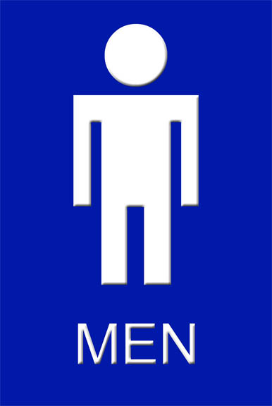 Men Only Bathroom Signs For Pinterest