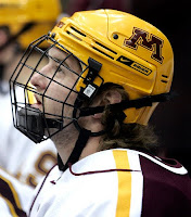 Minnesota Golden Gopher Captain Jay Barriball