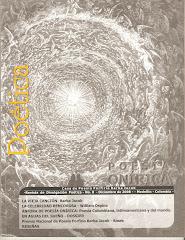 Revista Poética, ejemplar donado por el poeta Edgar Trejos a La Urraka.