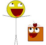 Esses são os mascotes do Blog