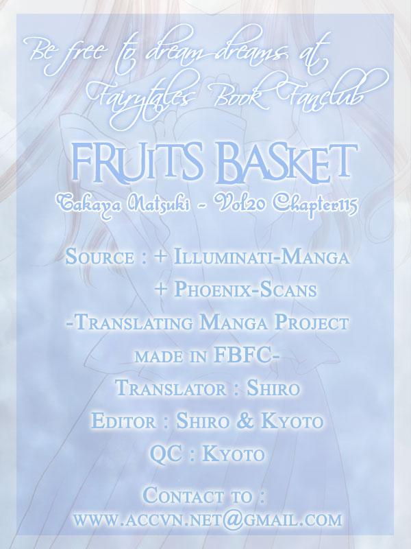 Fruits Basket chap 115 - Trang 1