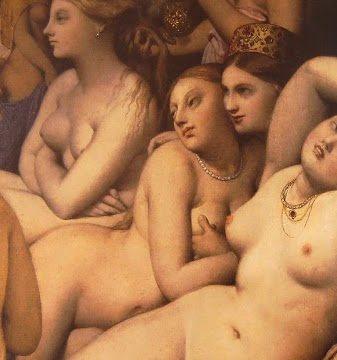 Ingres - Turkish Bath (detail)