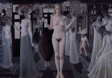 Pompei by Paul Delvaux