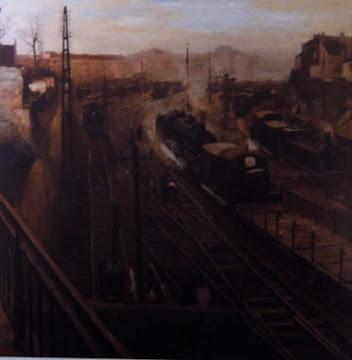 Vue de la gare du Quartiere Leopold