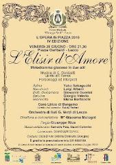 Opera Elisir d'Amore - Luglio 2010