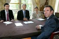 Bayrou et Douste-Blazy à Matignon