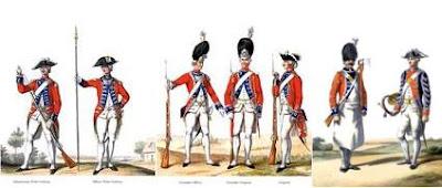 uniformes des Suisses de la garde