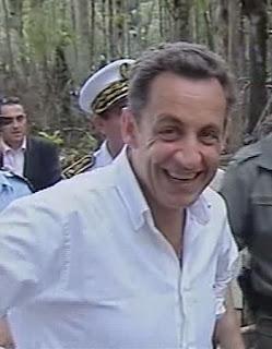 Sarkozy joggue