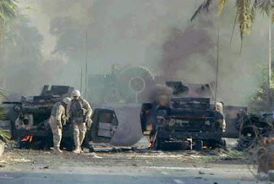 un attentat à Bagdad