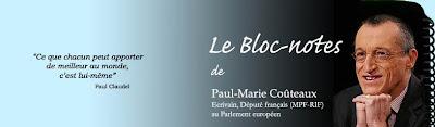 bloc-notes de PM Couteaux