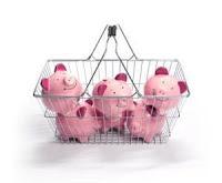 les trois petits cochons roses