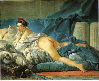 l'Odalisque brune de Boucher