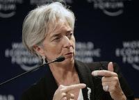 le ministre Lagarde