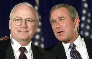 Bush et Cheney