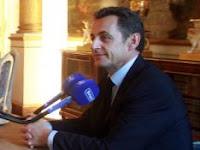 Sarkozy au salon Murat