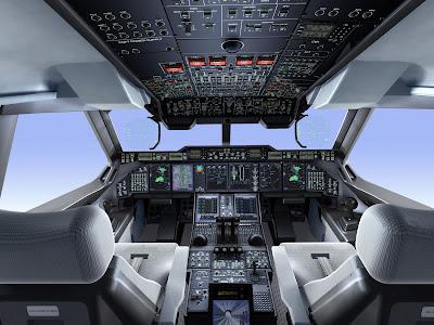 cockpit détaillé de l'A400M