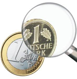 l'euro est un mark