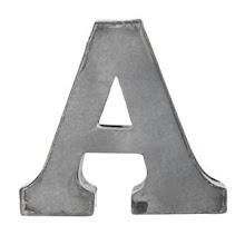 Zinken Letter : A,B,C,D etc . . .