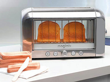 transparent toaster Transparent Toaster: The first transparent toaster in the world