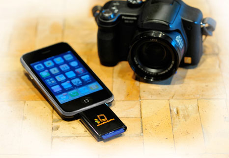 gadgets that could increase hard drive capacity on your iPhone or iPod