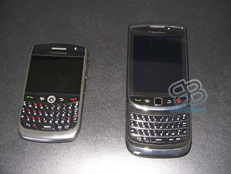 BlackBerry Slider: is this the BB phone with touch screen and QWERTY?