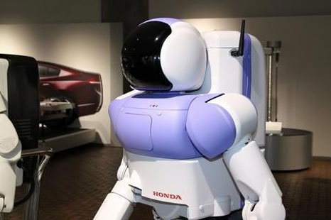 new honda asimo 1 Honda Asimo Q4: look slimmer than before
