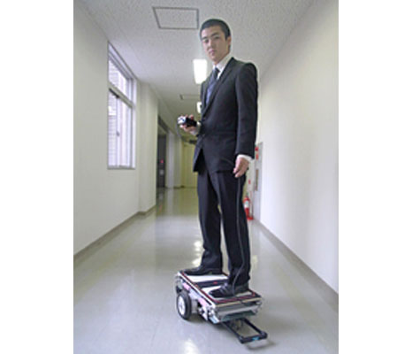 Robo-Skateboard: robots in the form of a skateboard