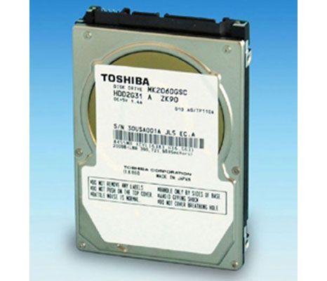 toshiba hdd automotive Toshiba Hard Drive MK2060GSC: hard drive automotive for use in a car