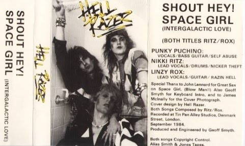 Hellrazer (UK) - Demo (1984) Cover