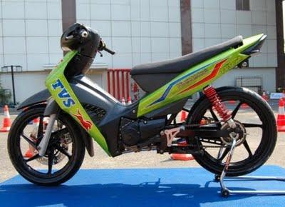 Modifikasi Motor TVS Neo 110 cc 2009