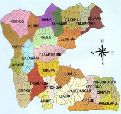 GAMBAR PETA LENGKAP FOTO KOTA JALAN: Peta Tangerang Lengkap