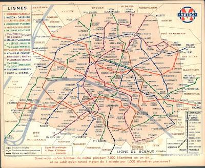 Plan de Metro Paris Français Métro Ratp Francais Carte Mapa Map of France: Plan de Metro Paris ...