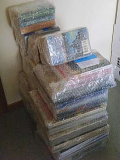 Books shipped in M-Bags