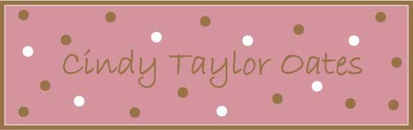 Cindy Taylor Oates