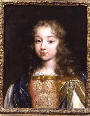 Luis XIV con 8 años de edad
