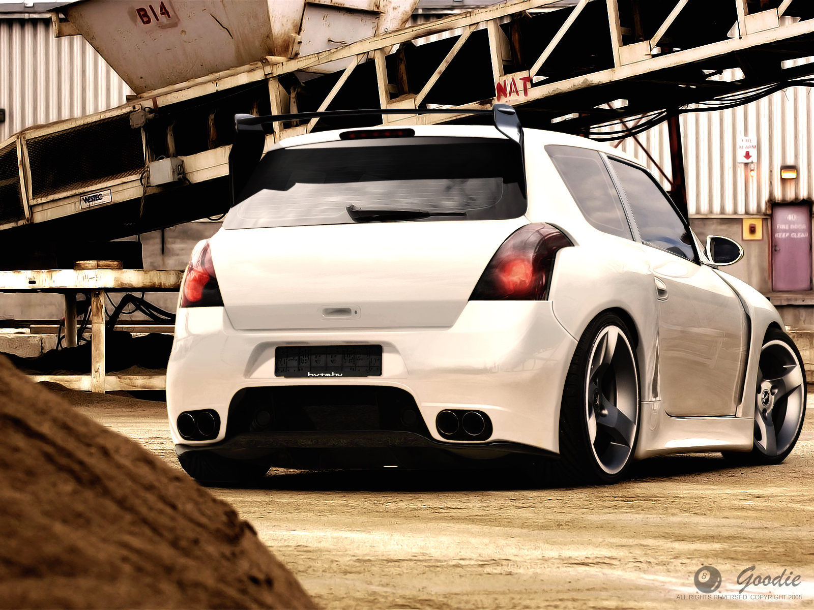 Swift WideBody Concept by GoodieDesign Suzuki Swift Custom
