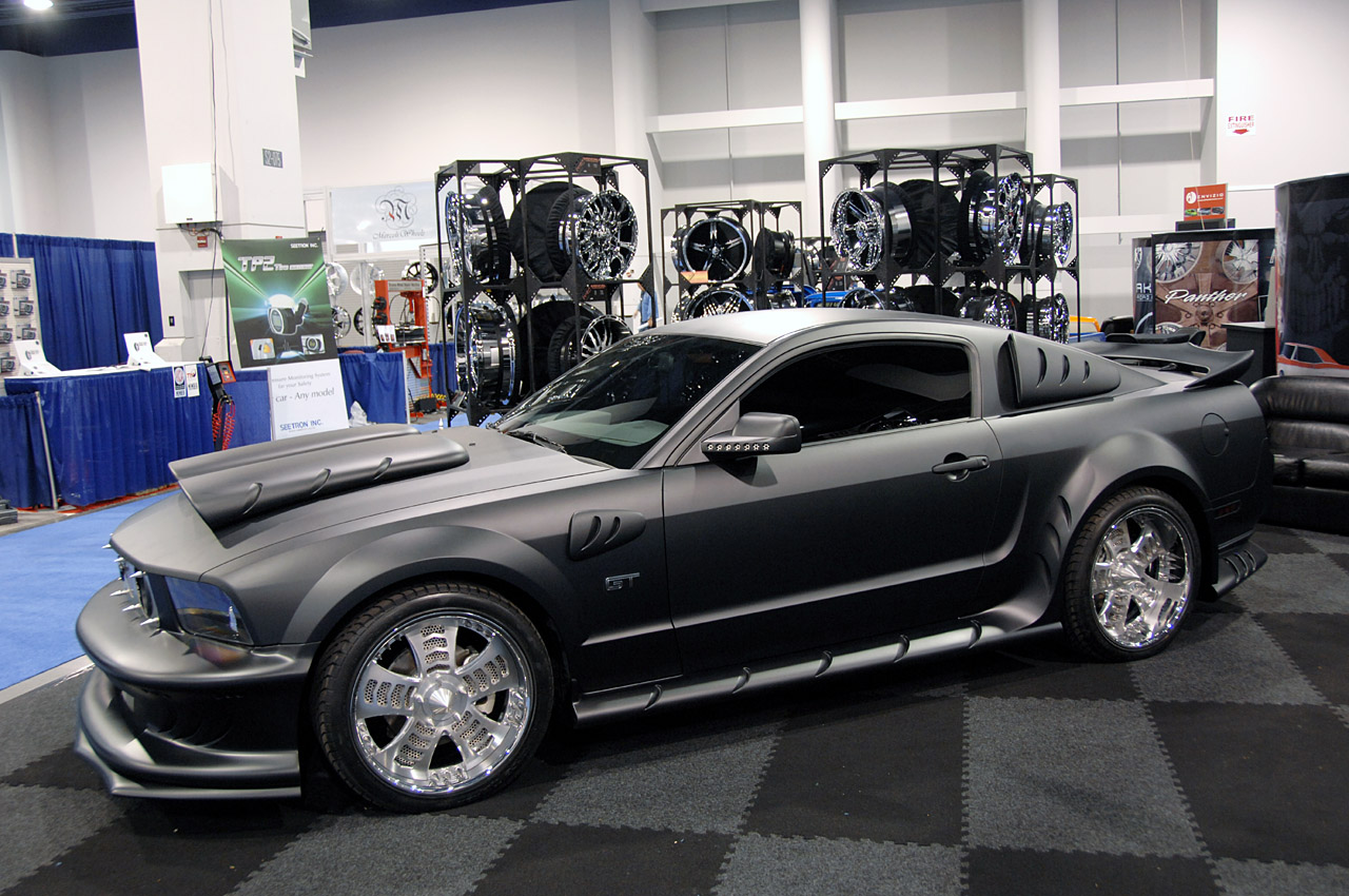 Ford Mustang Tuning Side View