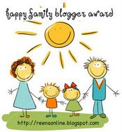 happyfamily award dari reena...