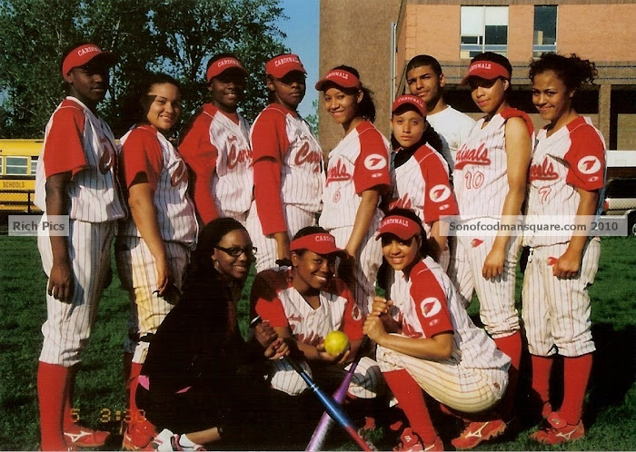 2010 Madison Park High Lady Cardinals Softball Team