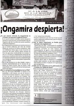 Entrevista a ¡ONGAMIRA DESPIERTA!
