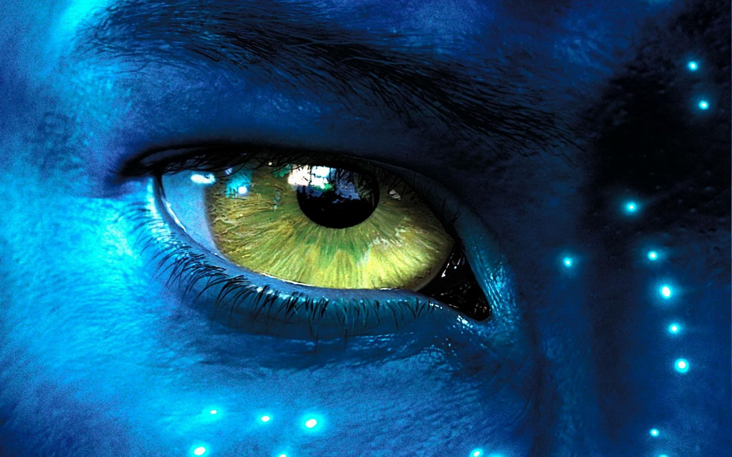 Avatar Eye Wallpapers 1440x900