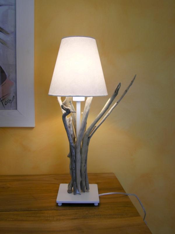 Lampe Bois Flotte Ikea : Une Hirondelle Au Printemps: Une lampe en bois flott?